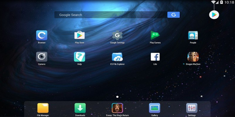 Download Nox Emulator